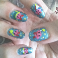 Kirby Manicure Right by MikariStar