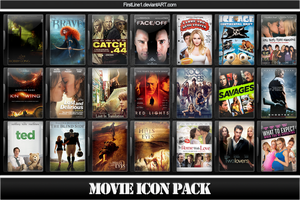 Movie Icon Pack 60 by FirstLine1