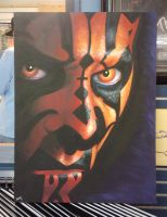 Darth Maul colab painting by jenchuan