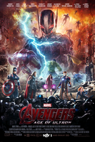 Avengers: Age of Ultron Poster by CAMW1N