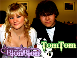 BlonBlon and TomTom by aquadore