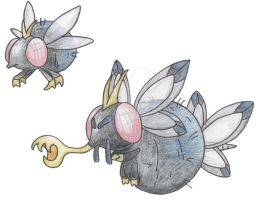 Blowfly Pokemon by JoshKH92