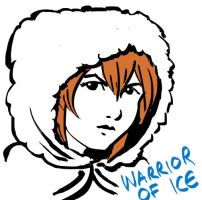 Warrior of Ice by Card-Queen