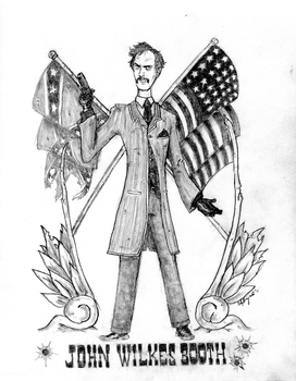 John Wilkes Booth by PharoahArch