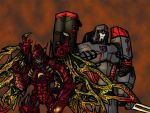 Megatron Triple Threat by JZLobo