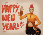 It's 2017! by JadeKingfisher