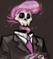 Mystery Skulls - Lewis's formal portrait by jameson9101322