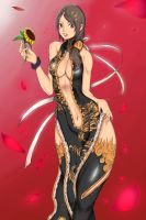 Blade And Soul : Kun Race = Red Lust by Exerionz