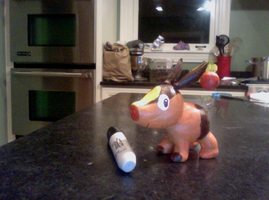 Tepig - Clay Model by Tellala