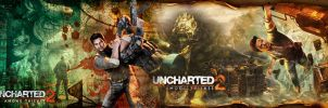 Uncharted 2 Among Thieves wall by Toxigyn