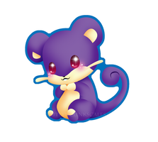 Rattata by Clinkorz