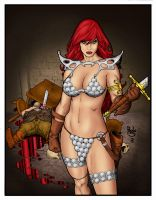 Red Sonja by statman71