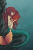 Mermaid by The-Purring-Teapot