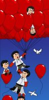 '99 Red Balloons' by BlackRayquaza1