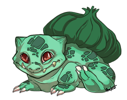 001 Bulbasaur by AbelPhee
