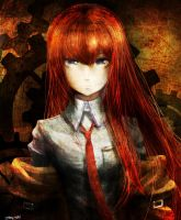 Makise Steins gate fanart by Sashiro-kun