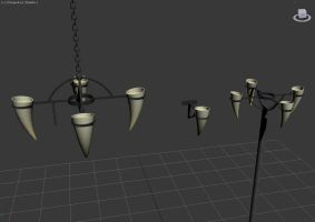 Horn lights [Prefab WIP] by Wampa842