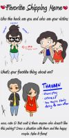 ThaHaan - Shipping Art Meme by isnani