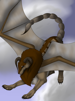 Greek Mythology - Manticore by Alcina24