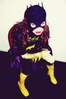 Batgirl Cosplay - Getting Impatient by ozbattlechick