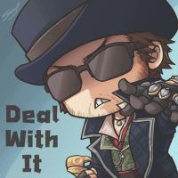 DEAL WITH IT by sazienas