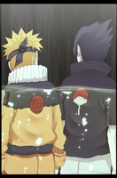 Color sasuke and naruto by n3eko123