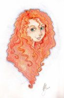 Merida by Draconian-Princess