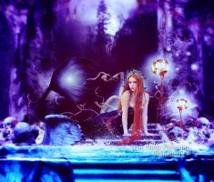 Once upon a mermaid by Fae-Melie-Melusine