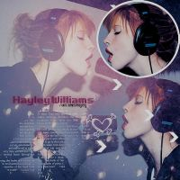 Hayley Williams Blend by Dinosauuur