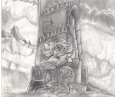 rose and tower by morgoththeone