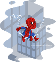 Spidey Man by Yellow-Dragoness