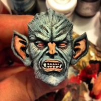 WereDude painted. by Arthammer