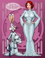 JESSICA RABBIT - Princess Leia 1 by GOODGIRLART