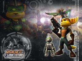 Ratchet and Clank Wallpaper by RatchetMario