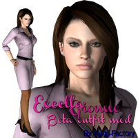 Excella Gionne Beta Outfit by Kukla-Factory