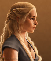 Game of Thrones - Daenerys Targaryen by Deydranos