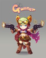 Gunner by kibowoo