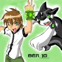 Ben 10: Ben and Ditto by ShadowKantu19