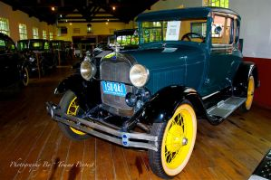1929 Model A Ford  3294 by TommyPropest-Candler