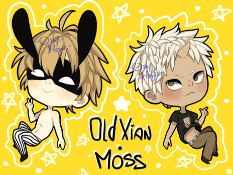 Old Xian - Moss by orlyvameza
