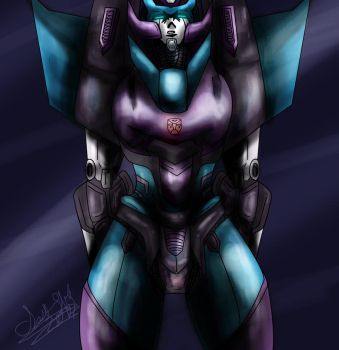 Blueberry Rodimus by IssiAndrofen