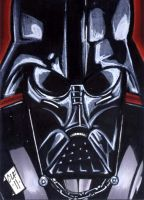 Darth Vader PSC by Foreman by chris-foreman