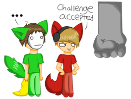 Pewdie and Cry in Bloody Trapland by KatanaTiger42