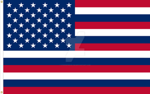 United States of America Flag 50StarSerapisVariant by StephenBarlow