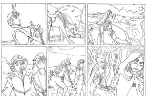 Quest beyond dreams chapter 2 storyboard part 1 by Energywitch