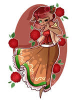 {OC} GingerSnap by KodaConstellation