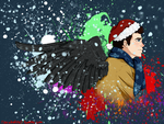 A Very Castiel Christmas by AilovU