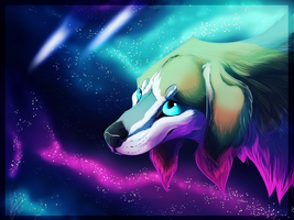Canis Lumens by Pekan-Pie