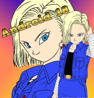Android 18 Wallpaper by BubbaZ85