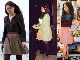 Belle from Once Upon A Time - Inspired Look by damselle-xo